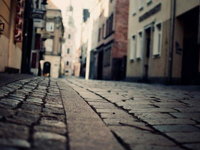 Cobbled Street, Fantasy, Fiction